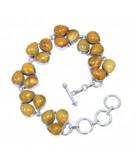 925 Sterling silver Bracelet of Amber