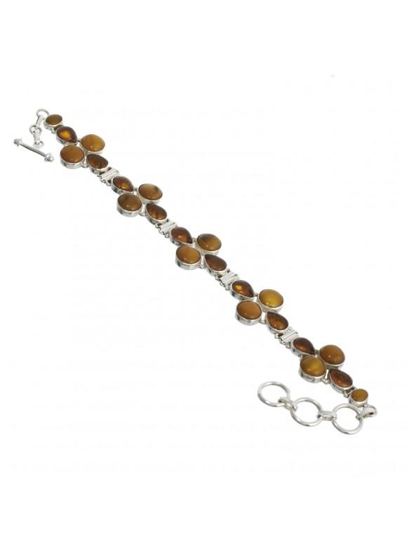 925 Sterling silver Amber Bracelet