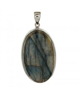 925 Sterling silver Cabochon Labradorite Pendant