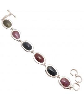 925 Sterling silver Bracelet with Wonder Sapphire