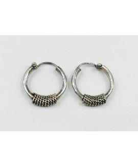 925 Sterling silver Black Rhodium Earrings
