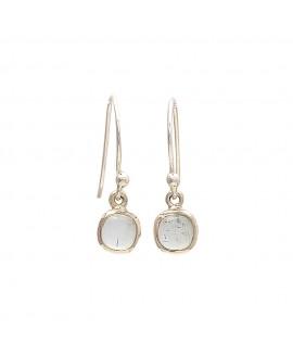 925 Sterling silver Aquamarine Earrings